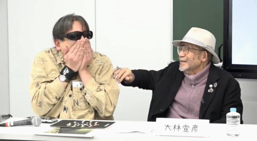 (左から)加藤秀幸、大林宣彦